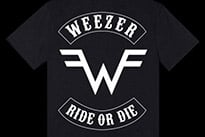 "Weezer Respond to 'SNL' Sketch with ""Ride or Die"" Shirt"