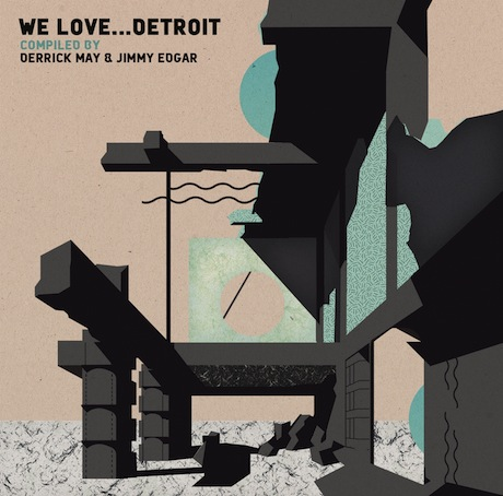 Derrick May & Jimmy Edgar/Various - We Love Detroit
