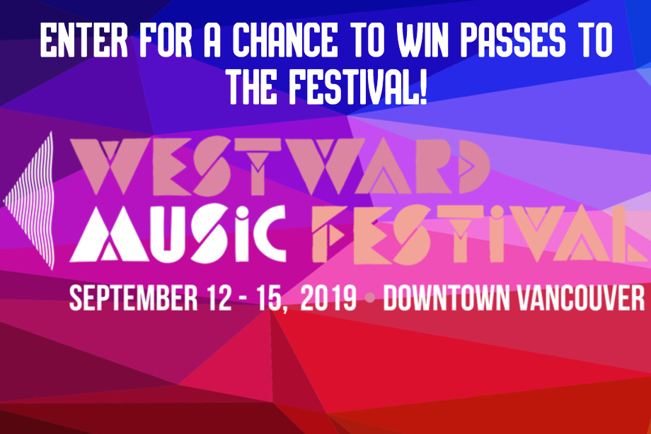 Westward Music Festival - Win a pair of festival wristbands!
