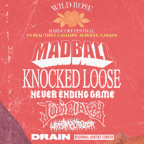 Madball, Knocked Loose to Play Calgary's Wild Rose Hardcore Festival
