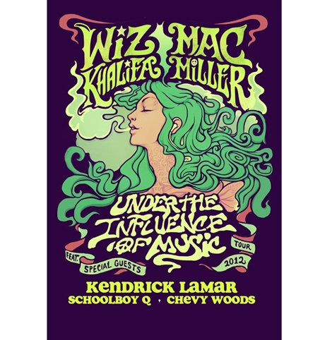 Wiz Khalifa, Mac Miller, Kendrick Lamar, Schoolboy Q Announce Joint North American Tour, Play Toronto