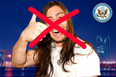 Update: Andrew W.K. No Longer the U.S. Cultural Ambassador to the Middle East