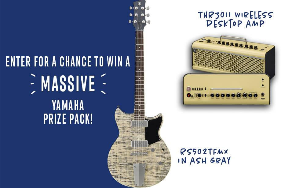 Yamaha - Enter For a Chance to Win a Revstar Guitar and a Wireless Amp!