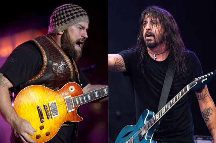 Watch Dave Grohl And Zac Brown Band Cover Metallica S