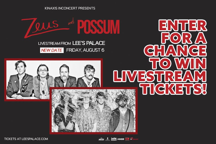 Zeus + Possum — Enter for Your Chance to Win Access to Their Livestream Performance!