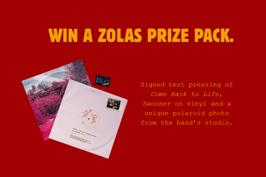 The Zolas - Enter for a chance to win a Zolas prize pack!