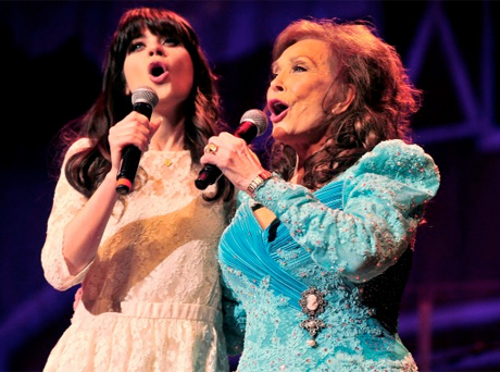 Loretta Lynn Recruits Zooey Deschanel for 'Coal Miner's Daughter' Musical